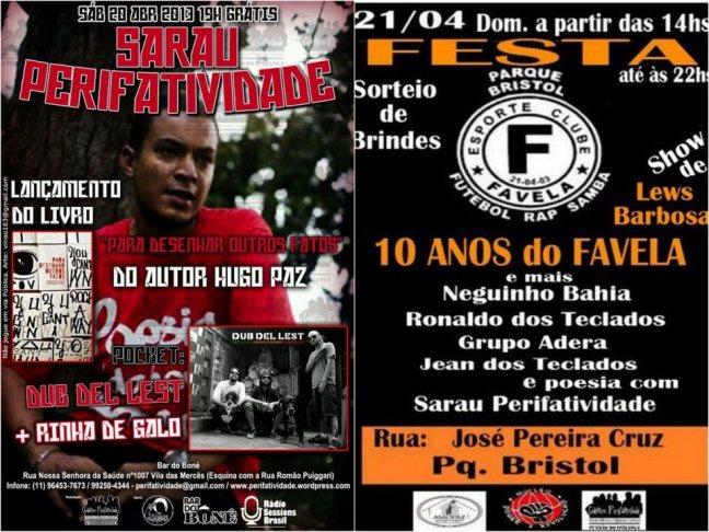 Final de Semana Perifativo Abril 2013