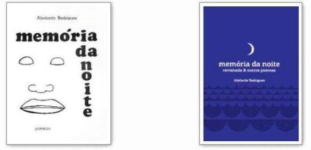 Capas de Memória da Noite: ontem (1978) e hoje (2013)