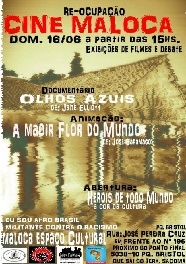 Cine Maloca - Junho 2013