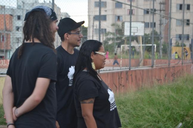 109 Black Blocs do Fundão dop Ipiranga não usam máscaras